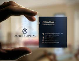 #43 para Design some Business Cards for Asher Capital por mamun313
