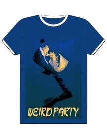 #21 for Design a T-Shirt for the band Weird Party af Nihadricci