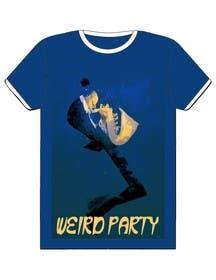Nro 21 kilpailuun Design a T-Shirt for the band Weird Party käyttäjältä Nihadricci
