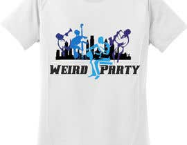 #7 cho Design a T-Shirt for the band Weird Party bởi andrei215
