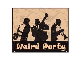 #2 untuk Design a T-Shirt for the band Weird Party oleh Khantayeb