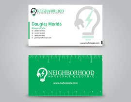 #31 cho Design some Business Cards for Neighborhood Wholesale Electric bởi benson92