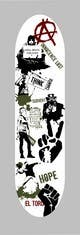 Ảnh thumbnail bài tham dự cuộc thi #                                                7                                              cho                                                 Skateboard collage style design with an anarchy theme (pictures provided)