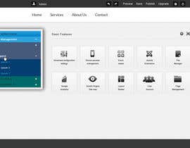 helixnebula2010 tarafından Design a Website Mockup for control panel menu için no 7
