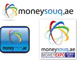 #152 para Logo Design for Moneysouq.ae   this is UAE first shopping mall financial exhibition por pupster321