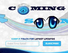 #19 untuk Design a Coming Soon page for selling in Themeforest oleh sanezoni