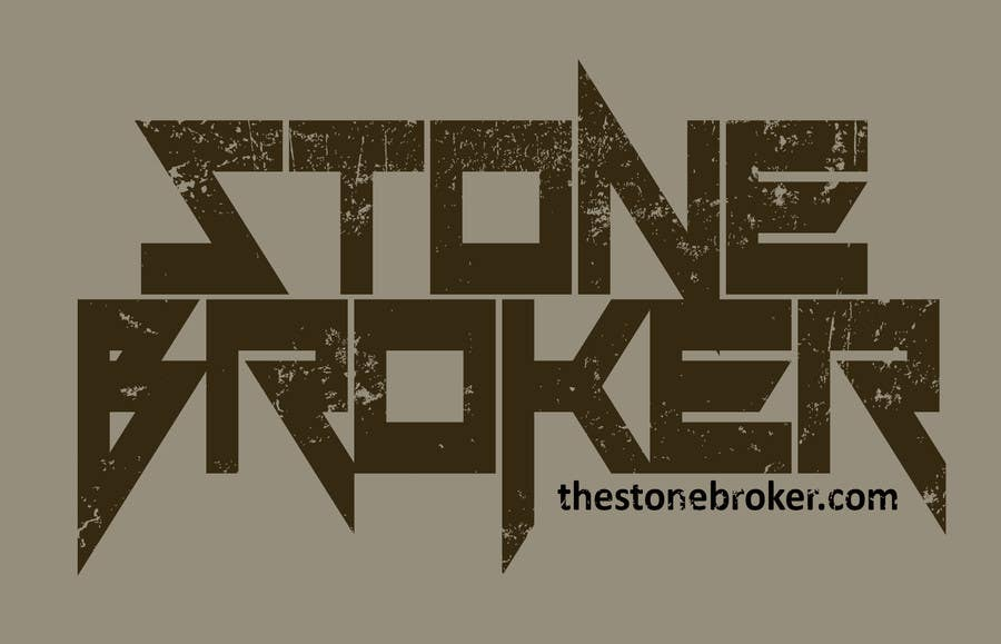 Contest Entry #30 for Design a logo for Stone Broker (stonebroker.ch)
