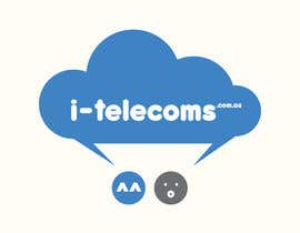 #15 para Design a Logo for i-telecoms.com.au por DigiMonkey