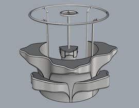 #34 untuk 3D flower stand in AutoCad oleh gane32810