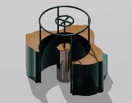Nro 35 kilpailuun 3D flower stand in AutoCad käyttäjältä Kriwil10