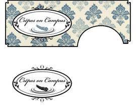 Nro 48 kilpailuun Design a Logo for Crêpes on Campus käyttäjältä CarmenD80