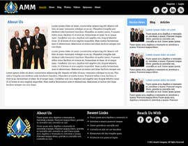 #16 untuk Simple Wordpress Website for AMM oleh pankajbiswas