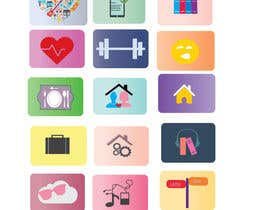 #6 cho Design a handful of eye popping, colorful and fun icons for an app bởi shahzeenahmed6