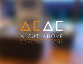 #121 for Logo for A Cut Above Constructions (ACAC) - Round 2 by hpmcivor
