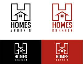 #24 cho Design a Logo for Homes Bahrain ( a realtor) bởi mekowskinny