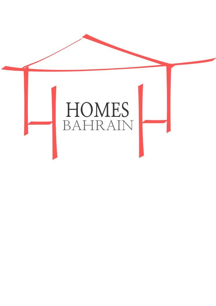 Bài tham dự cuộc thi #69 cho Design a Logo for Homes Bahrain ( a realtor)