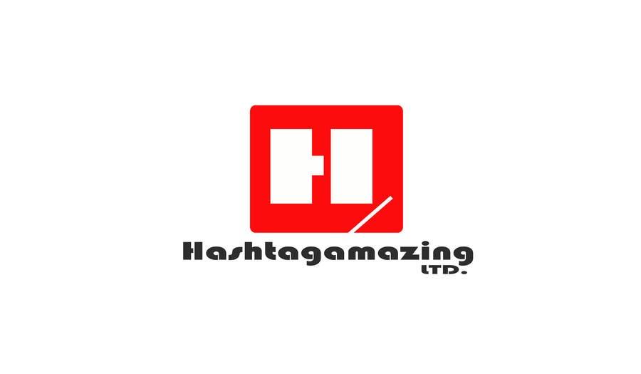 Penyertaan Peraduan #29 untuk Design a Logo for Hashtagamazing Ltd