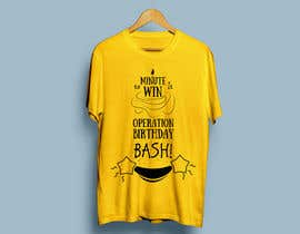 Sena8 tarafından Design a T-Shirt for kids birthday party için no 13
