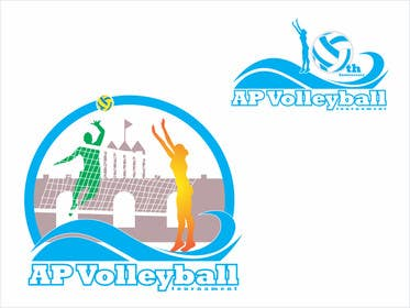 #16 for Design a T-Shirt for volleyball tournament af adrianusdenny