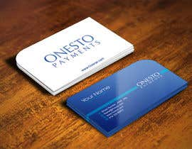 #36 untuk Design business card for Onesto Payments oleh IllusionG