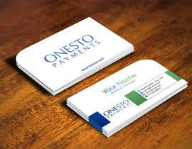 #40 for Design business card for Onesto Payments af IllusionG