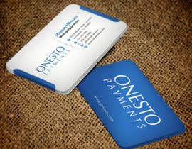 #14 untuk Design business card for Onesto Payments oleh mamun313
