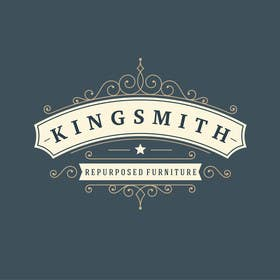 #38 for Design a Logo for Kingsmith Repurposed Furniture af onkarpurba