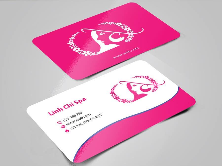 Bài tham dự cuộc thi #40 cho Design some Business Cards for Spa