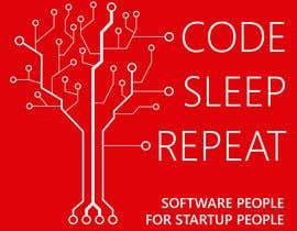 #62 untuk Design of a Logos for CODE.SLEEP.REPEAT. oleh ecpsys