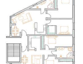 #24 para Two apartments design por AnastasiyaH