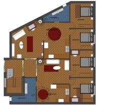 #42 para Two apartments design por krishancool