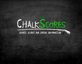 ScottContina tarafından Design a Logo for ChalkScores Sports Website için no 78