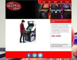 #7 cho Build a Website for an Arcade store bởi juliorodriguez74