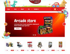 #8 cho Build a Website for an Arcade store bởi syrwebdevelopmen