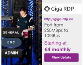 #11 for Design a Banner for giga-rdp.in by asfitanoli