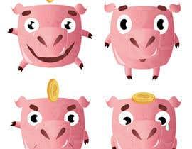 #36 para Piggy bank mascot por Neishka