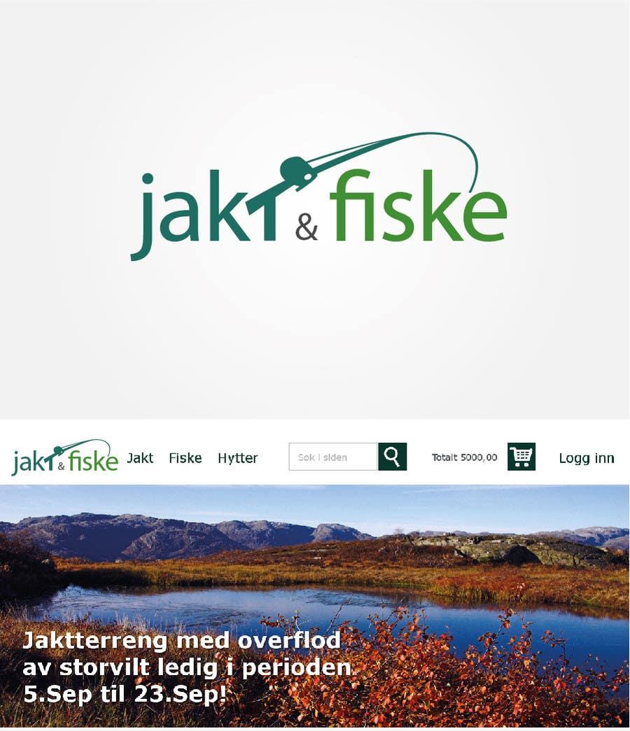 Inscrição nº 4 do Concurso para Design a Logo for jakt-fiske.no