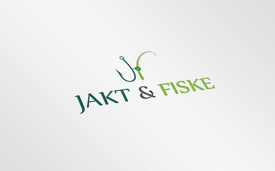 Inscrição nº 72 do Concurso para Design a Logo for jakt-fiske.no