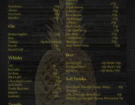 #16 cho Design a drink menu for a bar bởi CalotaMihai