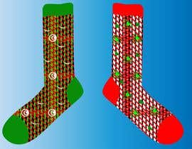 #48 untuk Sock Designs! Best 2 Designs (1 Male, 1 Female) Wins! oleh winkeltriple