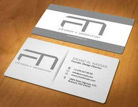 #21 for Design some Business Cards for an interior design firm af akhi1sl