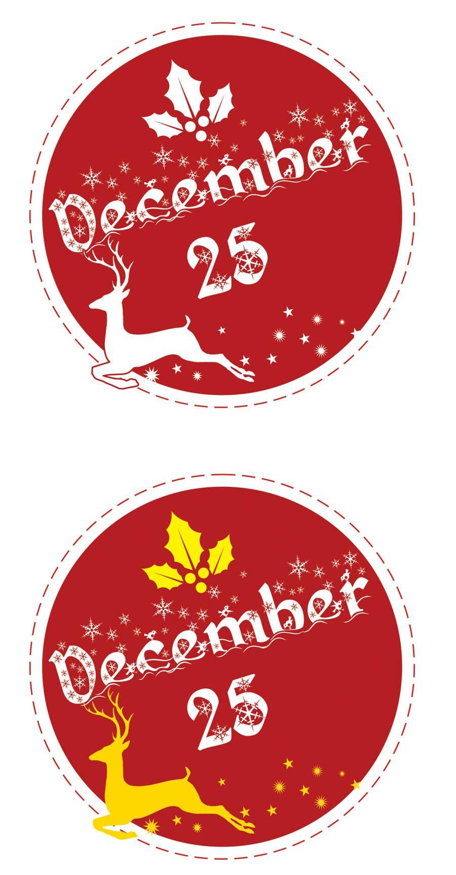 Penyertaan Peraduan #30 untuk Design a Logo for December 25