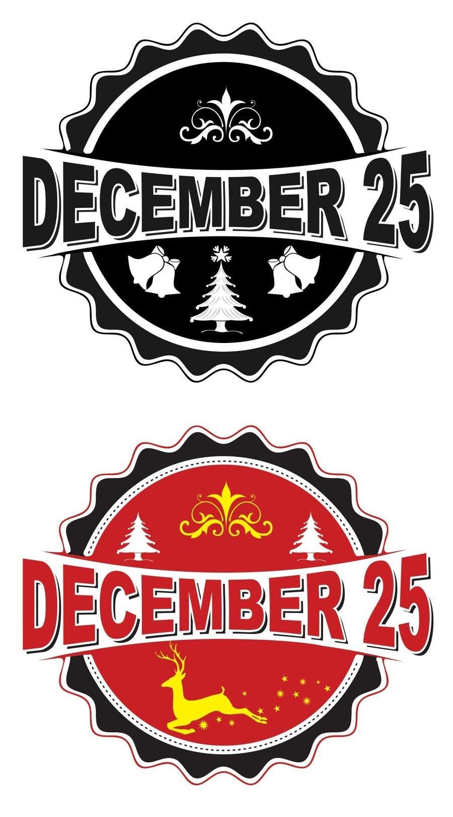 Penyertaan Peraduan #31 untuk Design a Logo for December 25