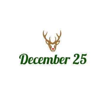 Penyertaan Peraduan #16 untuk Design a Logo for December 25