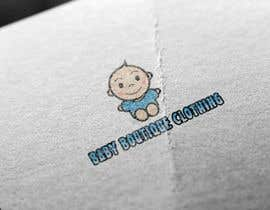 #63 untuk Design a Logo for baby boutique clothes website oleh F4MEDIA