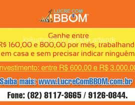 nº 2 pour Design a Banner for LucreComBBOM.com.br par kskumar2010