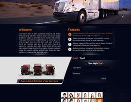 #6 untuk Transportation Website Design oleh greenarrowinfo