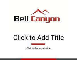 #6 untuk Design Powerpoint Template for Bell Canyon Consulting oleh jeanniefreelance