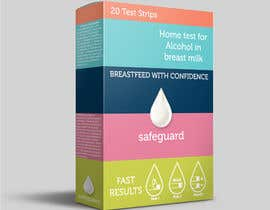 #13 untuk Create Print and Packaging Designs for breastmilk alcohol test oleh tazsaragi