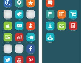#10 para Design a range of Icons on a skinned background for a sporting app por Rendra5
